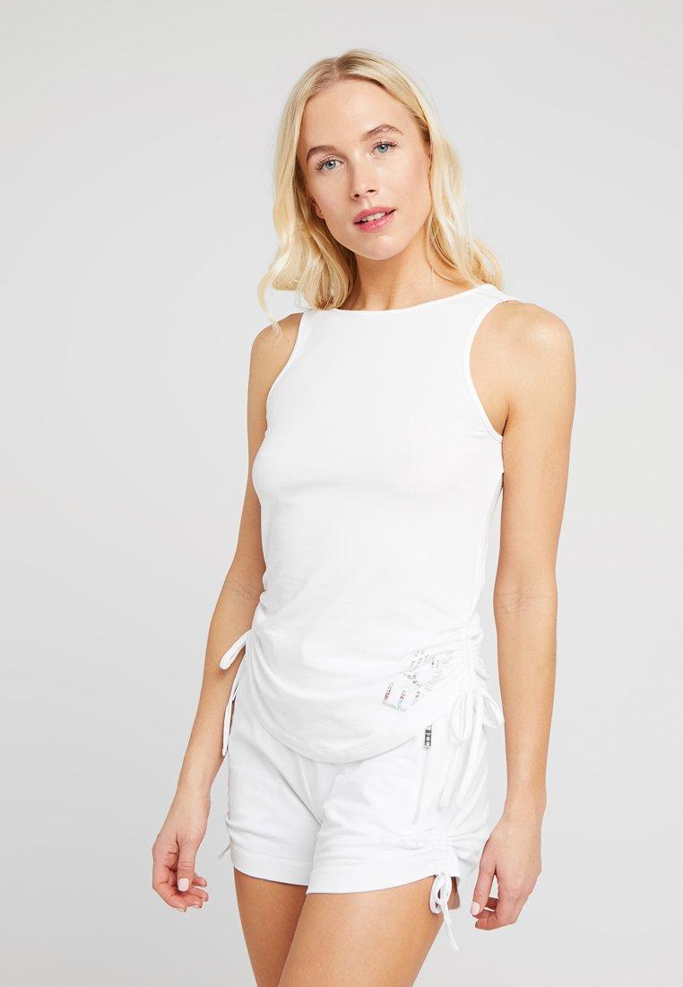 EA7 Emporio Armani - TANK - Pyjama top - bianco