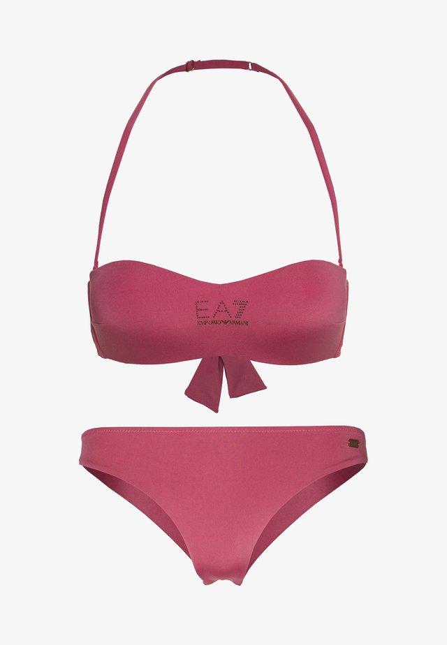 SEA WORLD STUDS BAND SET - Bikini - purple
