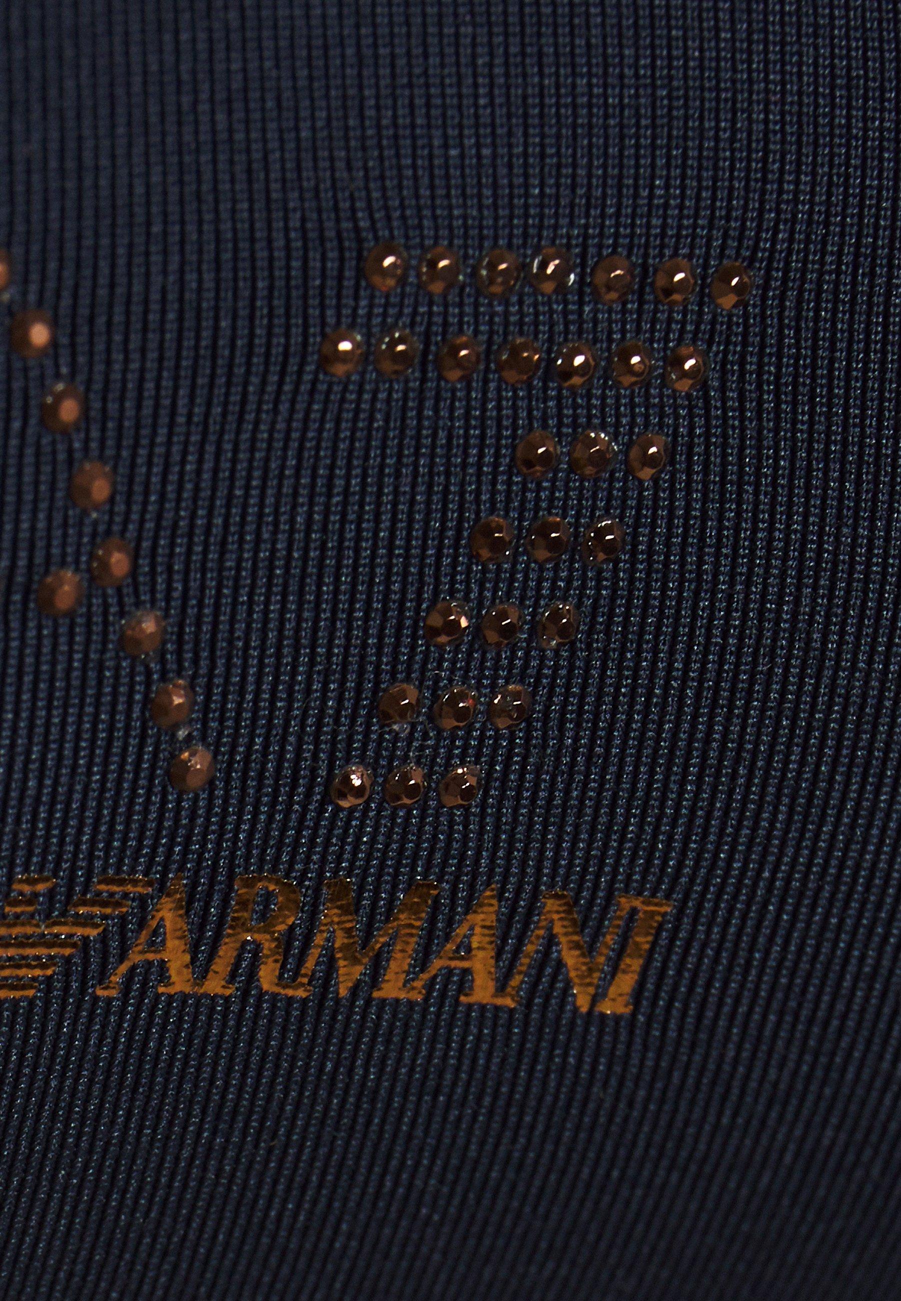 Ea7 Emporio Armani Sea World Studs Band Set - Bikini Navy Blue Black Friday