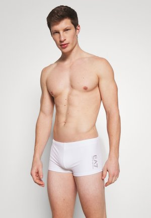 SEA WORLD CORE TRUNK - Zwemshorts - bianco/silver