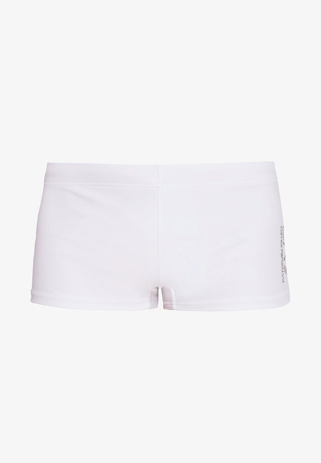 SEA WORLD CORE TRUNK - Badehose Pants - bianco/silver
