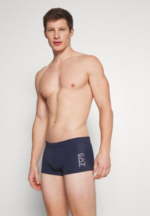 SEA WORLD CORE TRUNK - Zwemshorts - blu navy/silver
