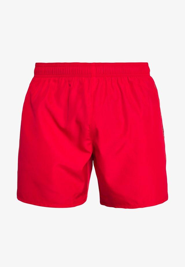SEA WORLD LOGO BOXER - Swimming shorts - rosso/silver
