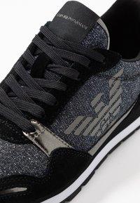 Emporio Armani - Sneaker low - black/gold - 2