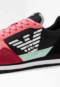 Emporio Armani - ALLY - Trainers - spicy red/straw/black - 2
