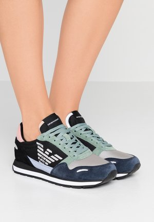 ALLY - Trainers - blu zen/dark green/green