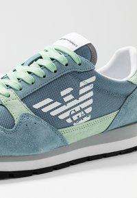Emporio Armani - ALLY - Sneakers - sky/mint/silver - 2