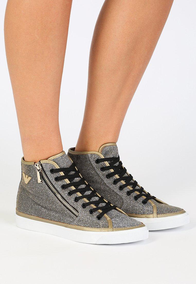 Emporio Armani - VENUS - Sneaker high - black/gold