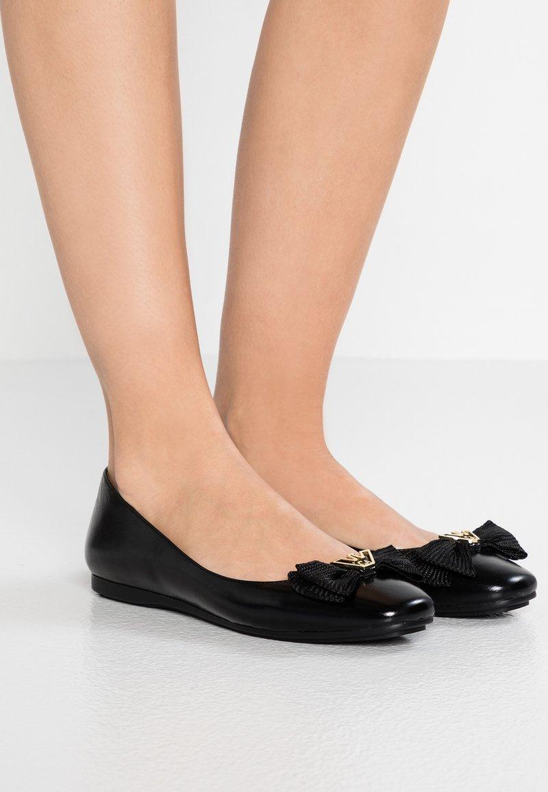 Emporio Armani - Ballet pumps - black