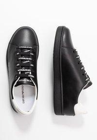 Emporio Armani - Sneakers - black - 3