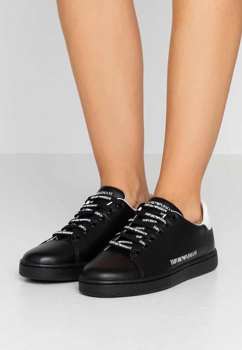 Emporio Armani - Sneakers - black