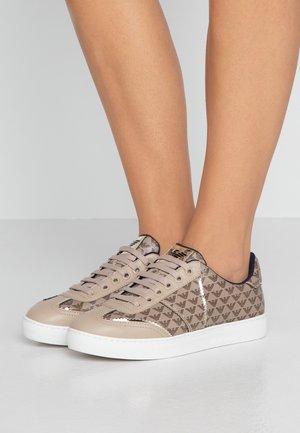 BIZ - Sneakers - dark brown/taupe/gold
