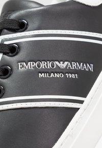 Emporio Armani - BELLA - Sneakers laag - black/white - 2