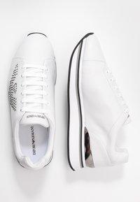 Emporio Armani - TANYA - Sneakersy niskie - white - 3