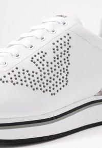 Emporio Armani - TANYA - Sneakersy niskie - white - 2