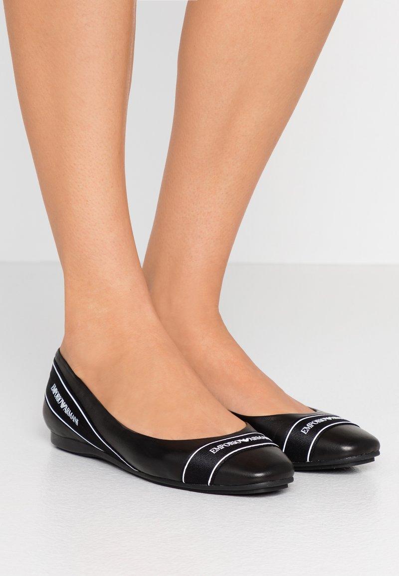 Emporio Armani - ERA - Ballet pumps - black