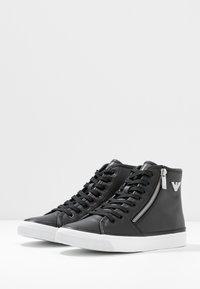 Emporio Armani - Sneakers hoog - black - 4
