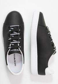 Emporio Armani - Trainers - black/white - 3
