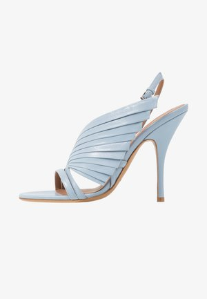 Sandalen met hoge hak - sky