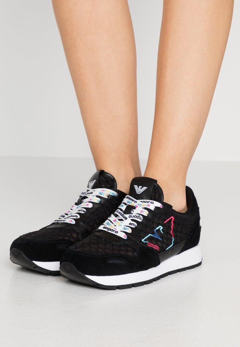 Emporio Armani - Sneakers laag - black
