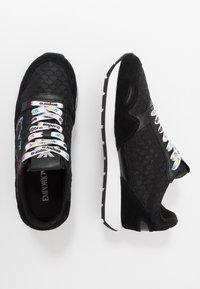 Emporio Armani - Sneakers laag - black - 3