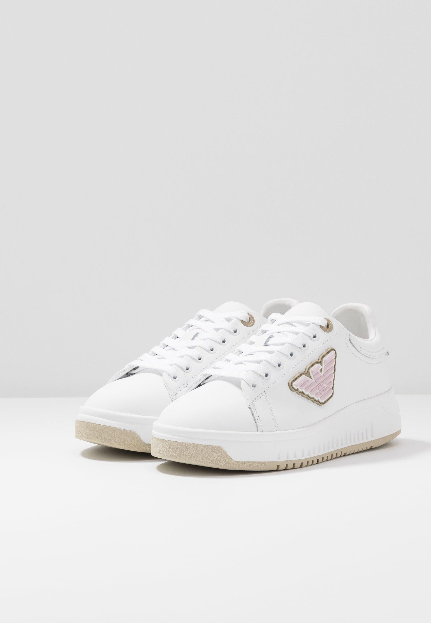Emporio Armani Sneakers - White/safari