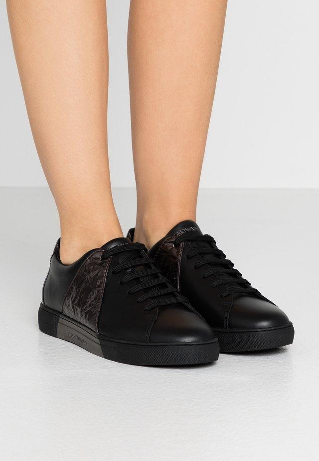Sneakersy niskie - black/gunmetal