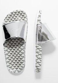 Emporio Armani - Pantofle - silver - 3