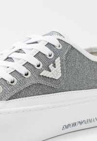 Emporio Armani - Baskets basses - white/silver - 2