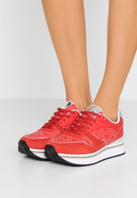 Emporio Armani - Sneakers laag - red/silver - 0