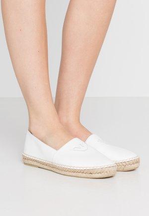 Espadrillot - bianco