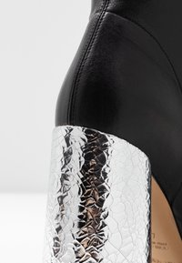 Emporio Armani - High heeled ankle boots - black/silver - 2