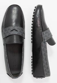 Emporio Armani - Moccasins - black/grey - 1