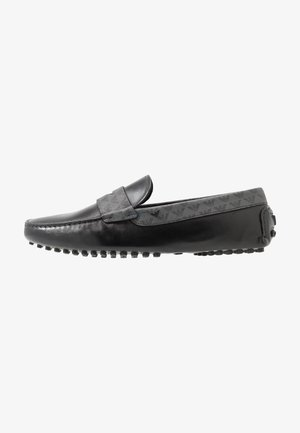 Moccasins - black/grey