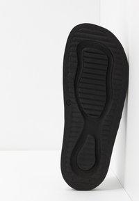 Emporio Armani - ZADAR - Sandaler - black/white - 4