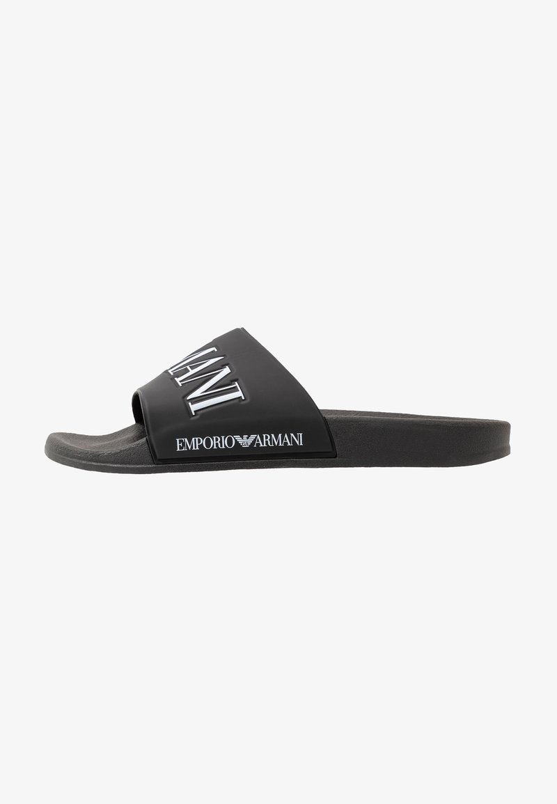 Emporio Armani - ZADAR - Sandaler - black/white
