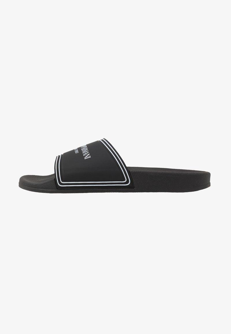 Emporio Armani - MILANO - Pantolette flach - black