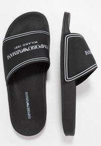 Emporio Armani - MILANO - Slip-ins - black - 1