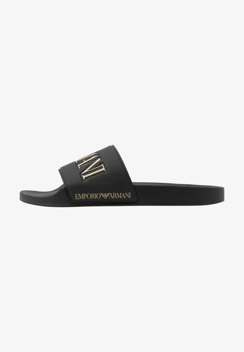 Emporio Armani - Sandaler - black/gold