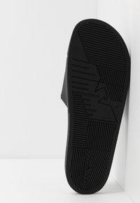 Emporio Armani - Mules - black/white - 4