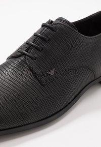 Emporio Armani - Lace-ups - black - 5