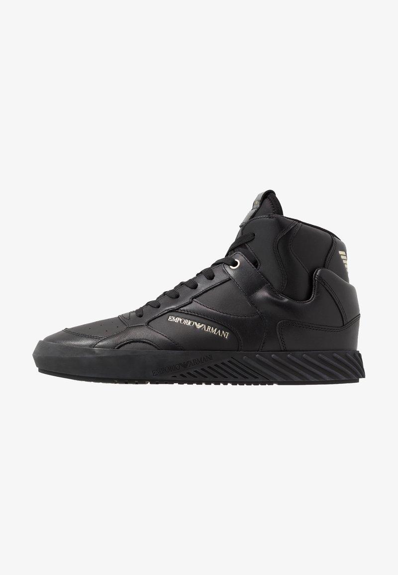 Emporio Armani - Sneaker high - black