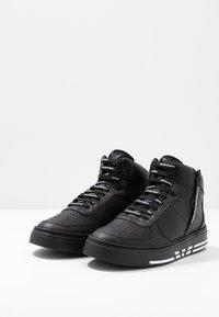 Emporio Armani - Sneakers high - black - 2