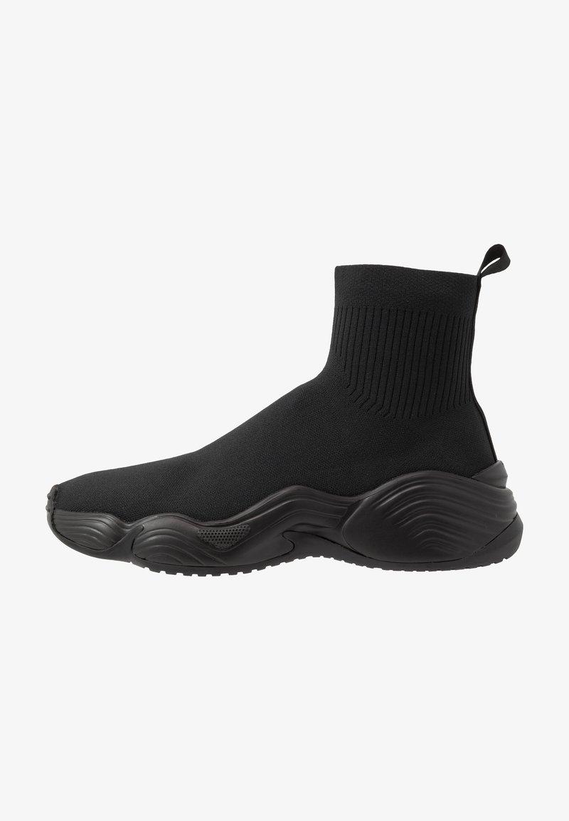 Emporio Armani - Sneakersy wysokie - black