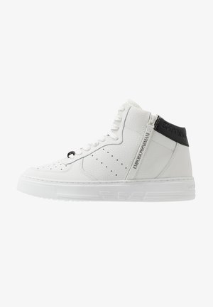 High-top trainers - optical white/black