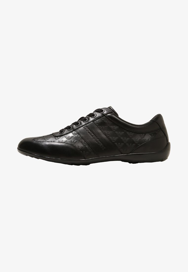 Emporio Armani - FRENCH LACED  - Trainers - black