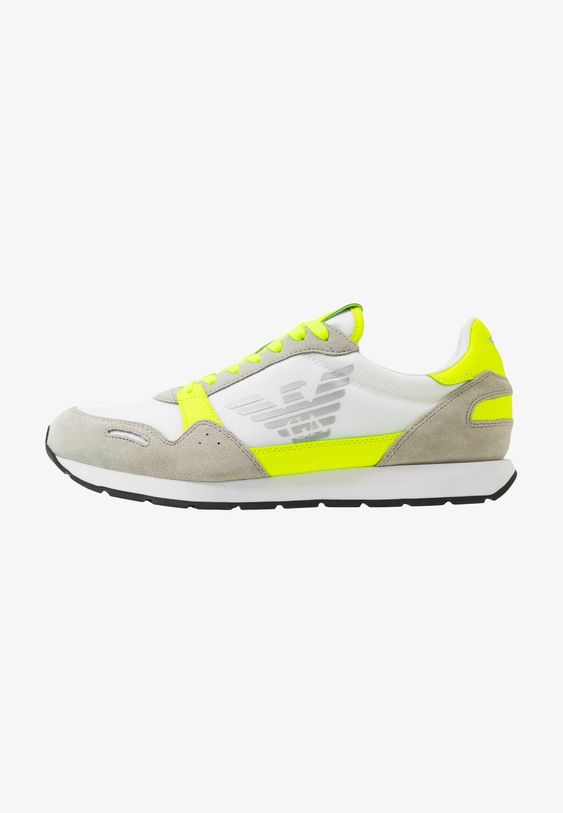 Emporio Armani - ZONE - Trainers - yellow/grey