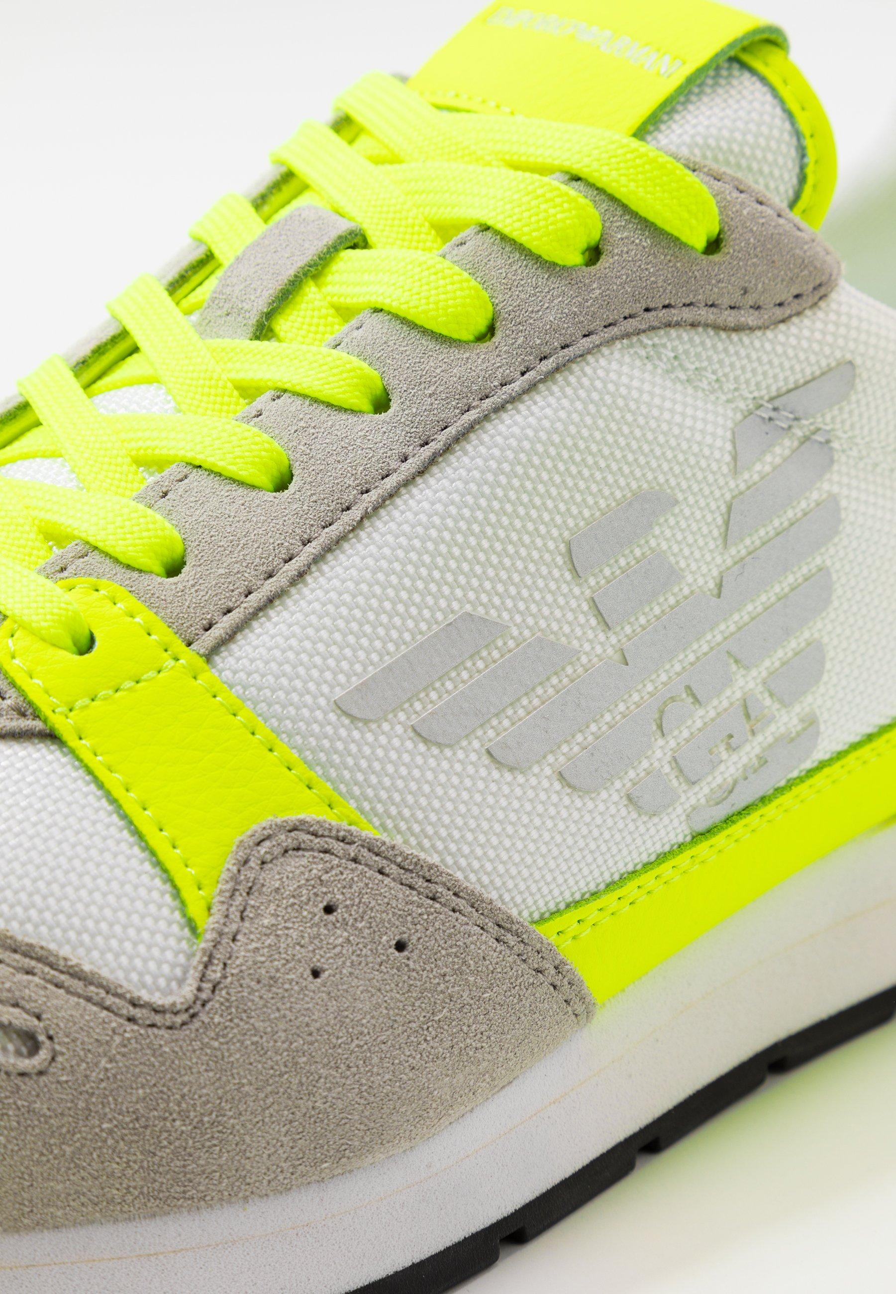 Emporio Armani Zone - Sneakers Yellow/grey