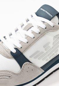 Emporio Armani - ZONE - Trainers - grey/white - 5