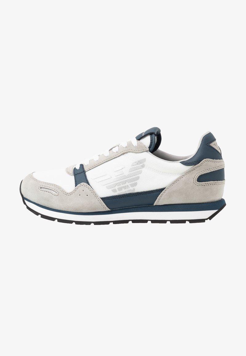 Emporio Armani - ZONE - Trainers - grey/white